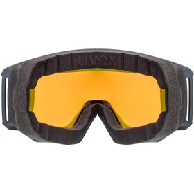 UVEX Athletic FM Masque, navy mat/fullmirror orange